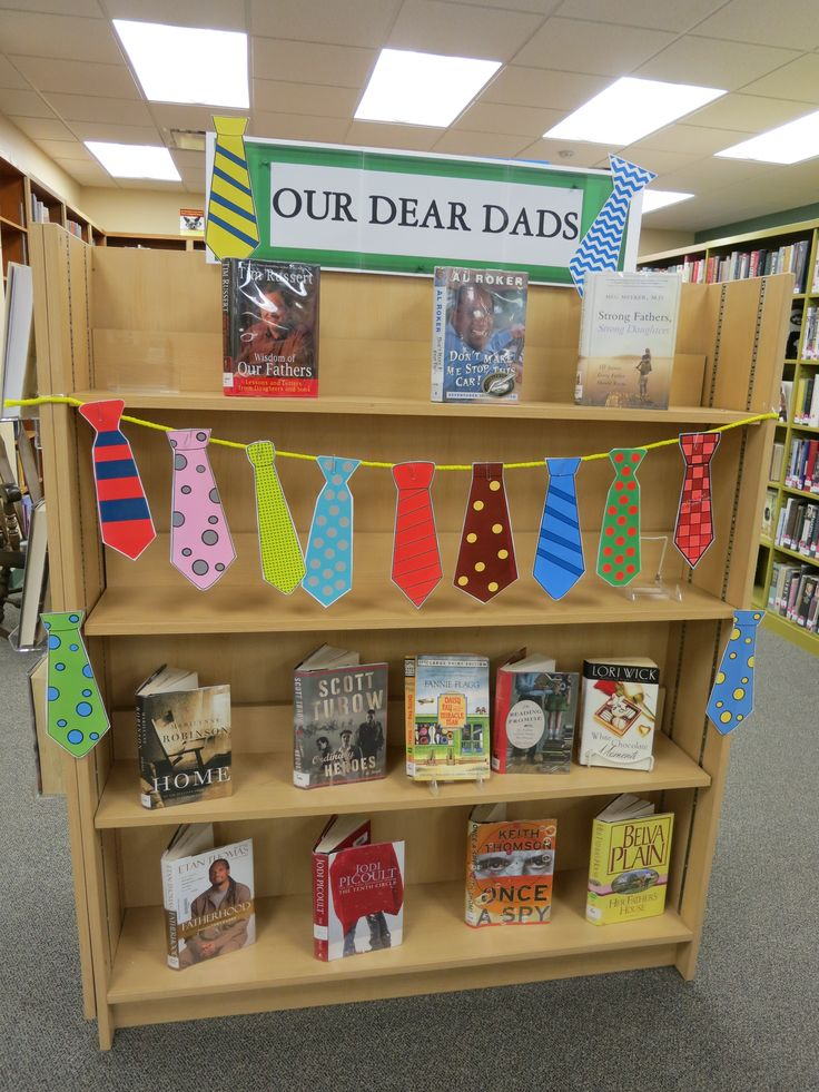 Father's Day Book Display