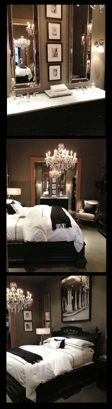 Gorgeous Bedroom & Bath!! Love it all...Restoration Hardware!