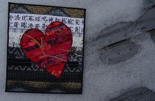 Kintsugi - Heart , by Iina Alho
