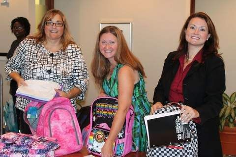 Foster children receive school supplies from law firm - Daily Tribune #fostercare