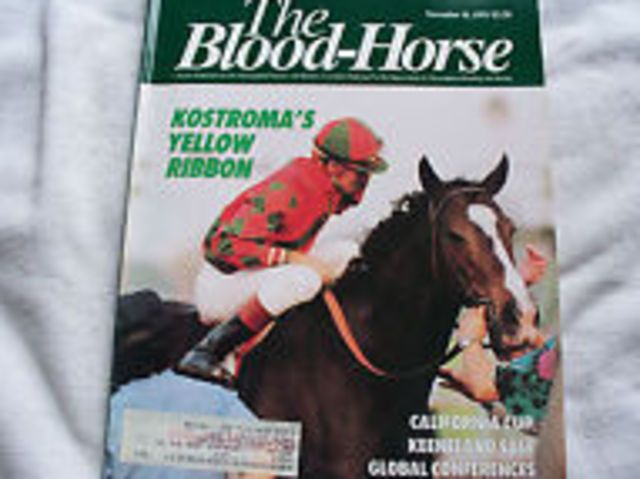 Kostroma(1986)Caerleon II- Katie May By Busted. Outcross In First 5 Generations. 26 Starts 12 Wins 2 Seconds 3 Thirds. $1,205,813. Won Las Palmas H(T), Yellow Ribbon S(G1T), Beverly D S(G1T), Dahlia S(G2T), Wilshire H(G3T).