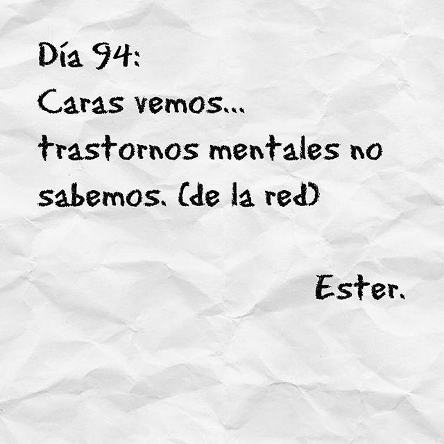 Día 94 #día94 #Ester #2016 #carasvemos...