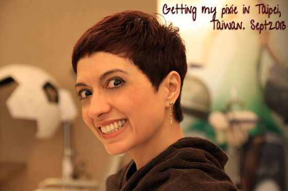 Pixie cut taipei fuss free hair pinterest for A little off the top salon