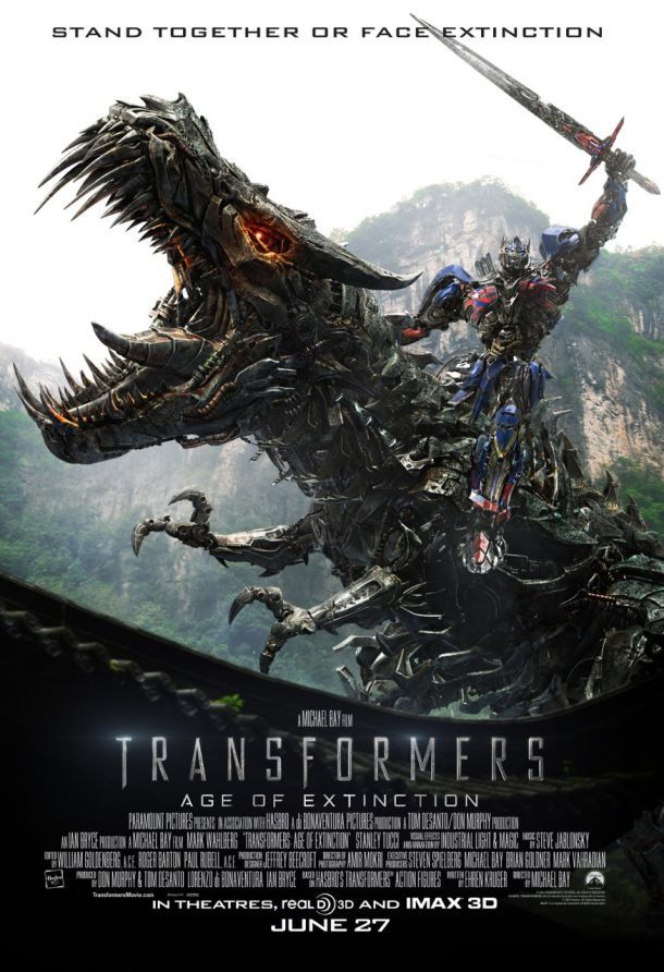 New posters from Transformers: Age of Extinction | IGN