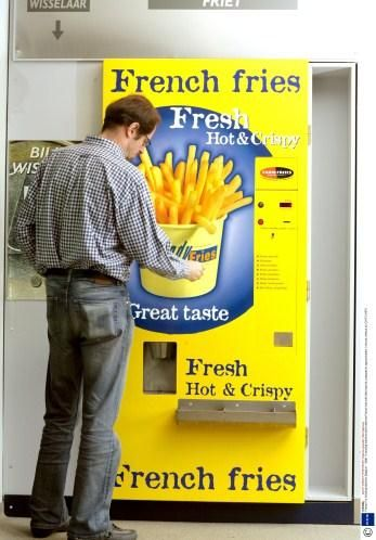 A VENDING MACHINE for French FRIES?!
