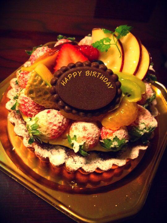 富山、義姉誕生日ケーキ