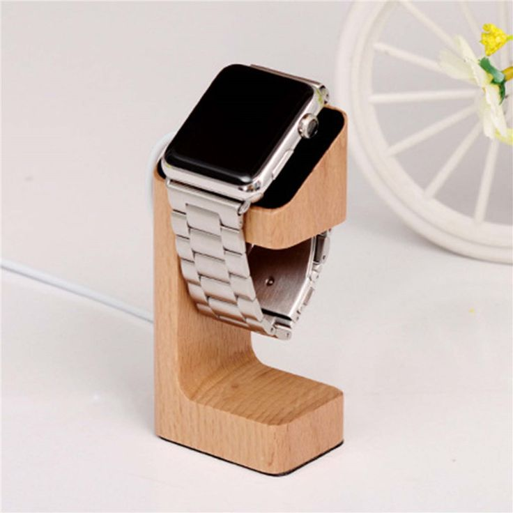 Natural Wood Holder For Apple Watch //Price: $10.70 & FREE Shipping //     #hashtag1