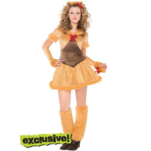 Teen Girls Cowardly Lioness Costume  sc 1 st  Pinterest & 24 best Halloween costumes images on Pinterest | Halloween ideas ...