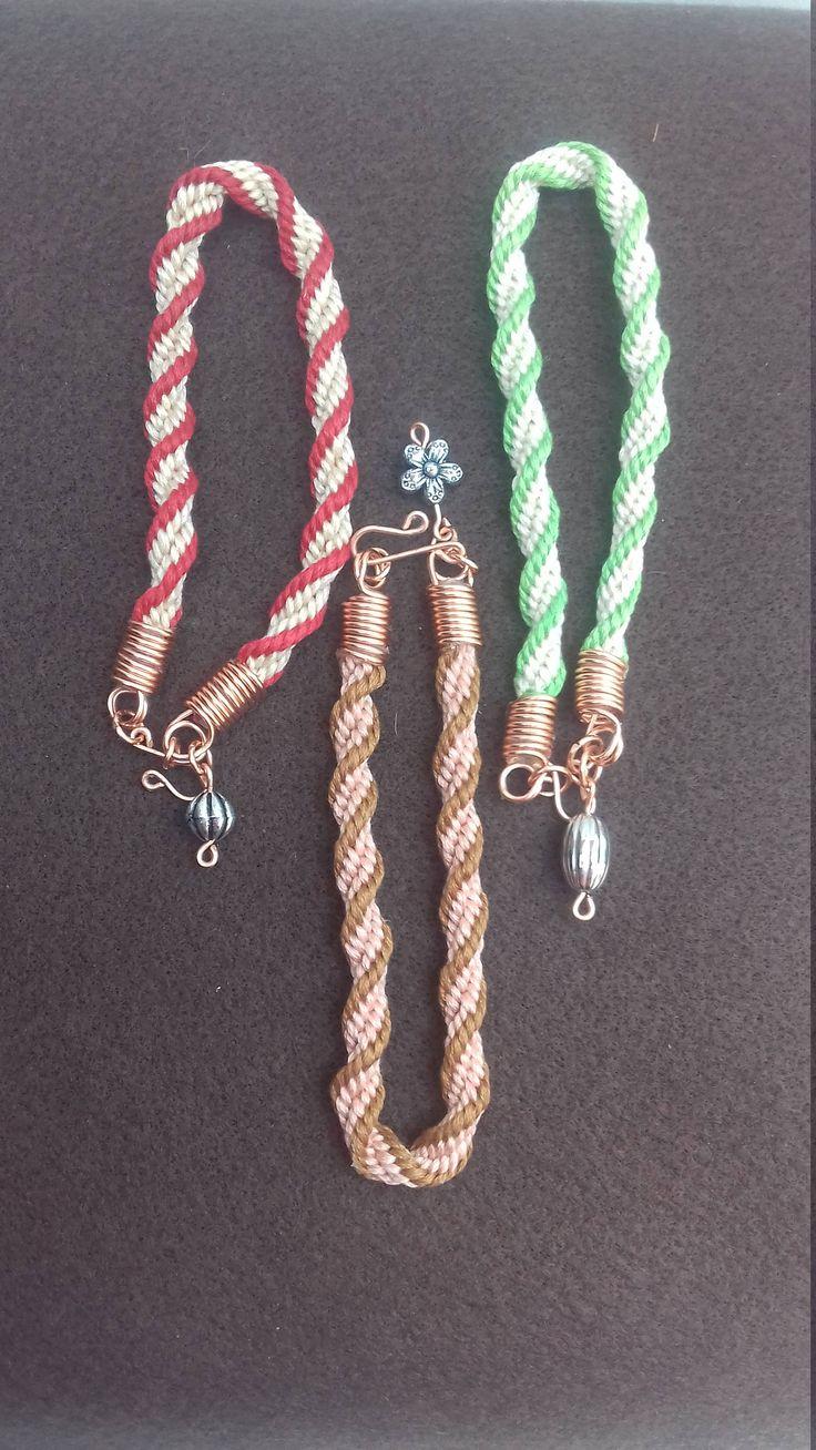 Friendship Bracelets, Kumihimo  Braiding, Festival Bracelets, Friendship Band, Anklet by LouisesEclecticCraft on Etsy