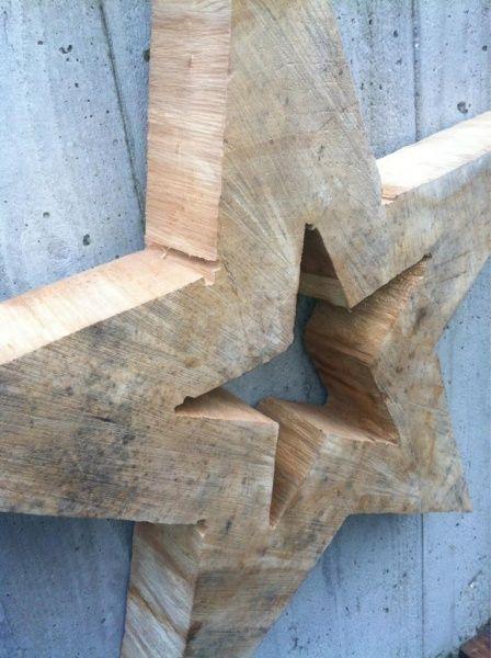 wooden star ♥