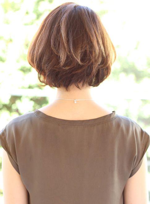 ショートバングボブ(髪型ボブ)