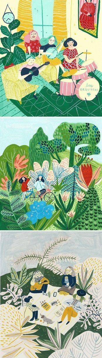 Illustrations by Josefina Schargorodsky / On the Blog!