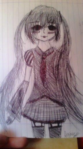 """""""I loved you, master.."""" #zatsunemiku #vocaloid #old"""