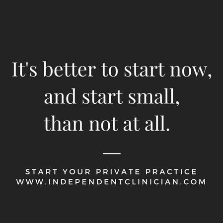 Learn how to start your own speech therapy private practice: https://www.independentclinician.com/guide-to-private-patients.html