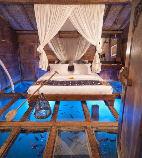 Glass Bottom Bedroom