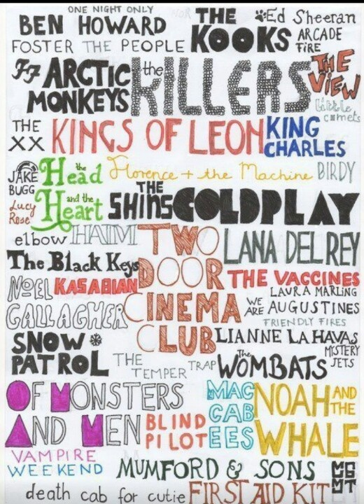 Great bands :)