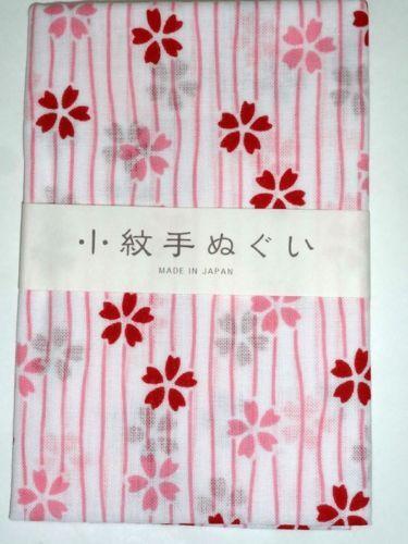 Sakura-2-Japanese-Tradition-Cotton-Towel-Tenugui-33-x-90-cm-Kyoto-Japan