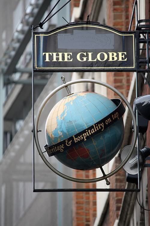 "Pub Signs :: The Globe - London England Pub.jpg picture...""where heritage and…"