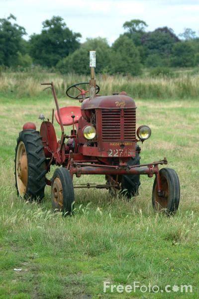 Old Tractor. Yes I have driven one long ago.