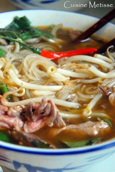 Phô au boeuf - soupe vietnamienne