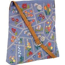 allotment floral tote