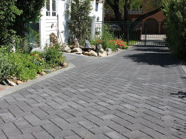 HydroSTON permeable concrete pavers used for a driveway at Crimea Street, Parramatta NSW, Australia.