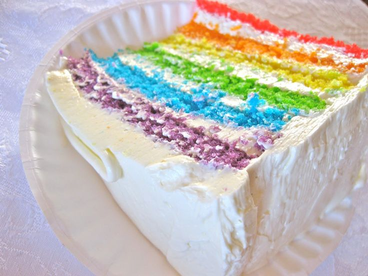 Earth Cake, Fire Cake, Rainbow Cake! Oh My! (From Bakergal.com)