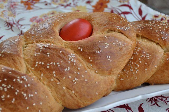 How to Make Traditional Tsoureki: Greek Easter Bread: Traditional Greek Easter Bread - Tsoureki