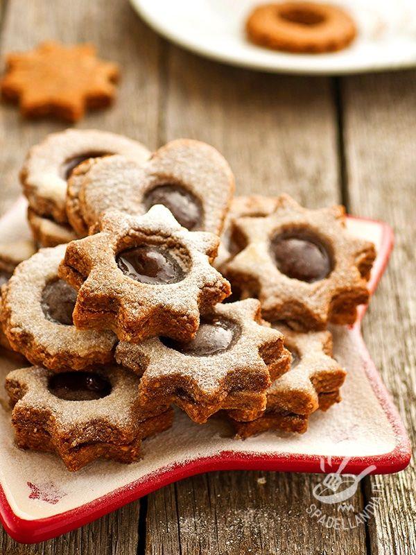 Stelline di cioccolato - Chocolate stars #chocolatestars #stellinedicioccolato