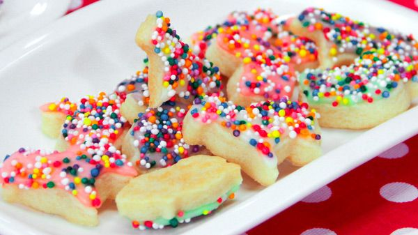 There's something so beautiful and nostalgic about animal cookies, from the delicate shapes to the tiny rainbow sprinkles. Skip the ones from the bag and try Chef Chloe Coscarelli's homemade vegan version. Makes about 60 one-inch cookies Make-Ahead Tip: Cookie...