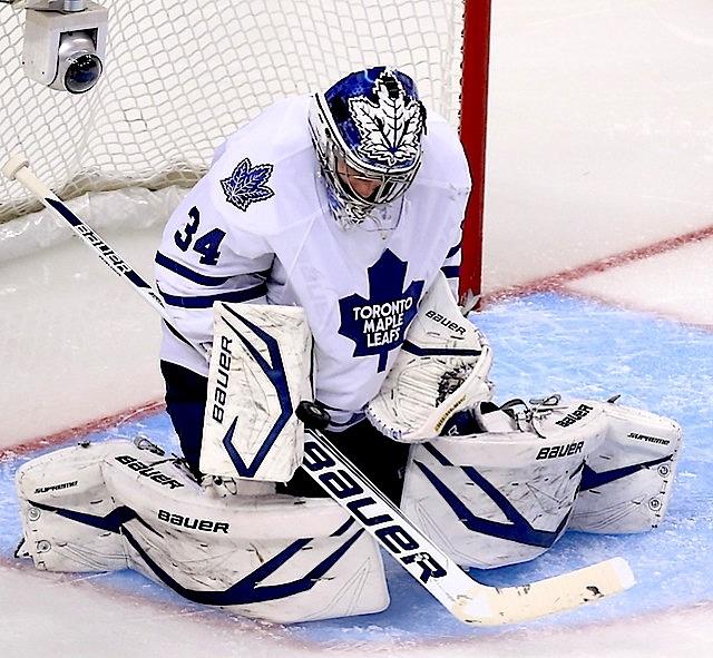 James Reimer-Toronto Maple Leafs