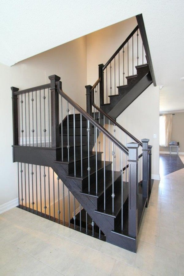 Best Straight Stairs Amber Stairs Railings Integrated 400 x 300