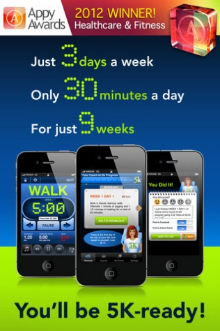This is the app I am using starting in the morning! Trying to get myself psyched! Couch to 5k
