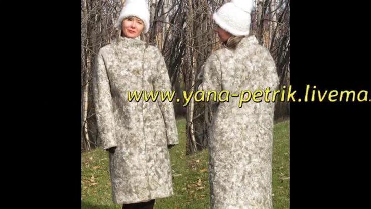 Видео Мастер-класс по валянию пальто с пришивным рукавом. Заказать: http://studiavoiloka.ru/