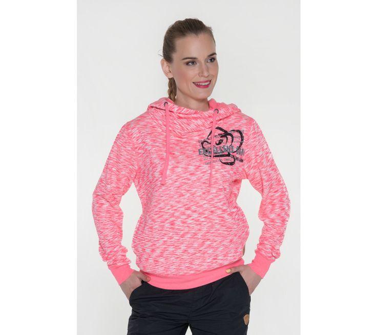 Dámská žíhaná mikina s kapucí Sam 73 | modino.cz #modino_cz #modino_style #style #fashion #sam73