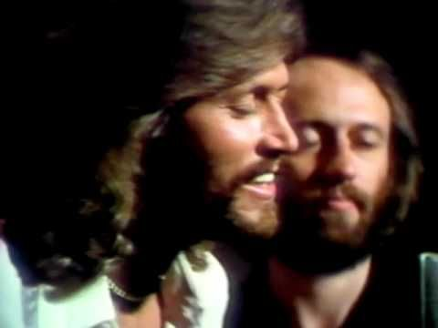Bee Gees - Too Much Heaven (Video)  I could watch this video a million times and it would never get old! This particular recording really showcases Barry's incredible range and voice. I love how they did this video as well. It's like you're right there with them.