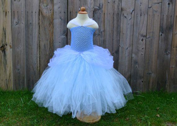 Disney PRINCESS CINDERELLA Inspired Tutu Dress by LilShopofTutus, $45.00