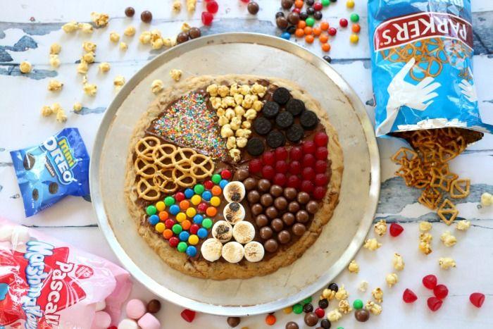 Thermomix Choc Chip Cookie Pizza :: www.lipstickandcake.com