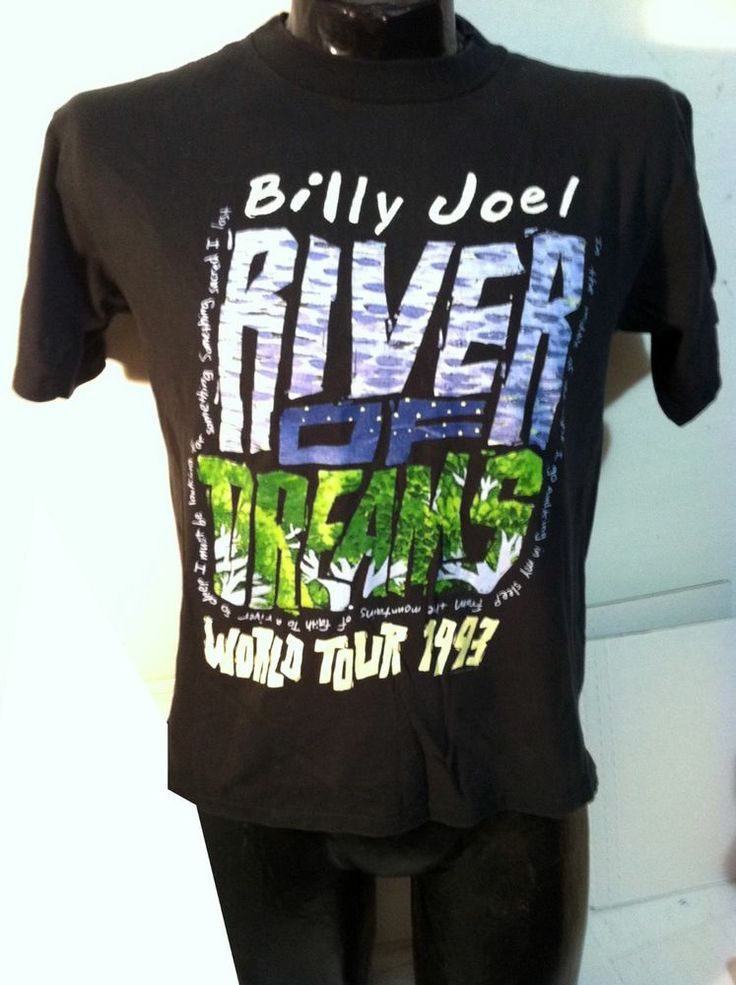 Vintage Billy Joel - The River Of Dreams World Tour 1993 9NdtEnSH