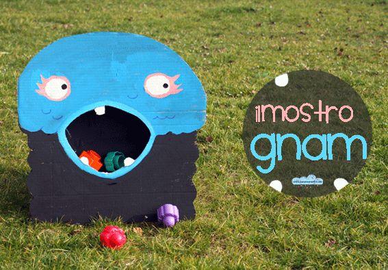 Quandofuoripiove: Giochi fai-da-te: il mostro gnam di toca boca