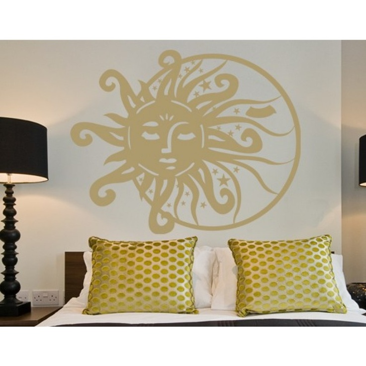 23 best images about sun and moon half face decor on pinterest sun classy and garden art. Black Bedroom Furniture Sets. Home Design Ideas