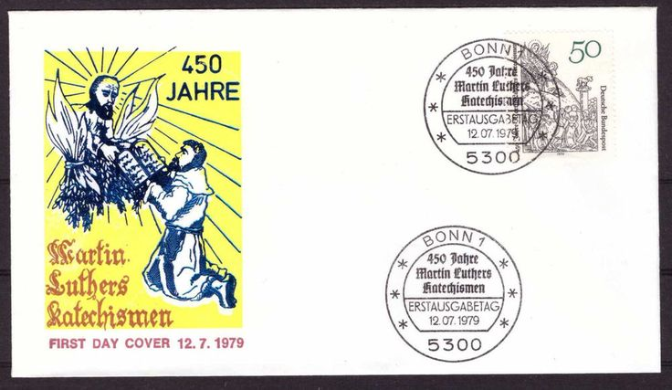 Bund / BRD FDC Michel 1016 - 450 Jahre Katechismus von Martin Luther | Briefmarken, Deutschland, Deutschland ab 1945 | eBay!