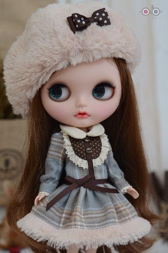 Last Set Fluffy Winter Dress Set for Kenner Blythe Doll Doll Outfit | eBay