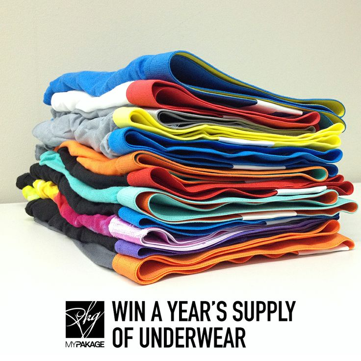 Win a year's supply of MyPakage underwear. Click here for full details: http://mypakage.com/valentines-giveaway/
