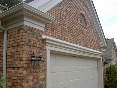 must have fancy garage trim molding for the home