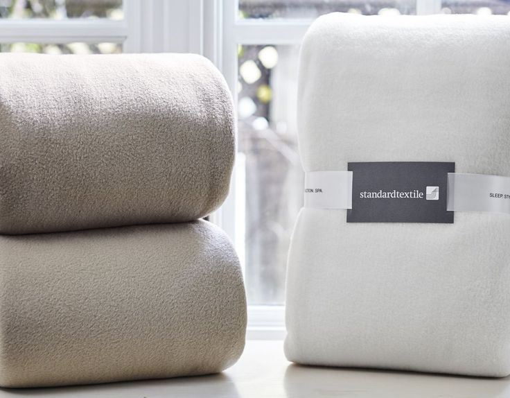 Snow Storm Blanket by Standard Textile