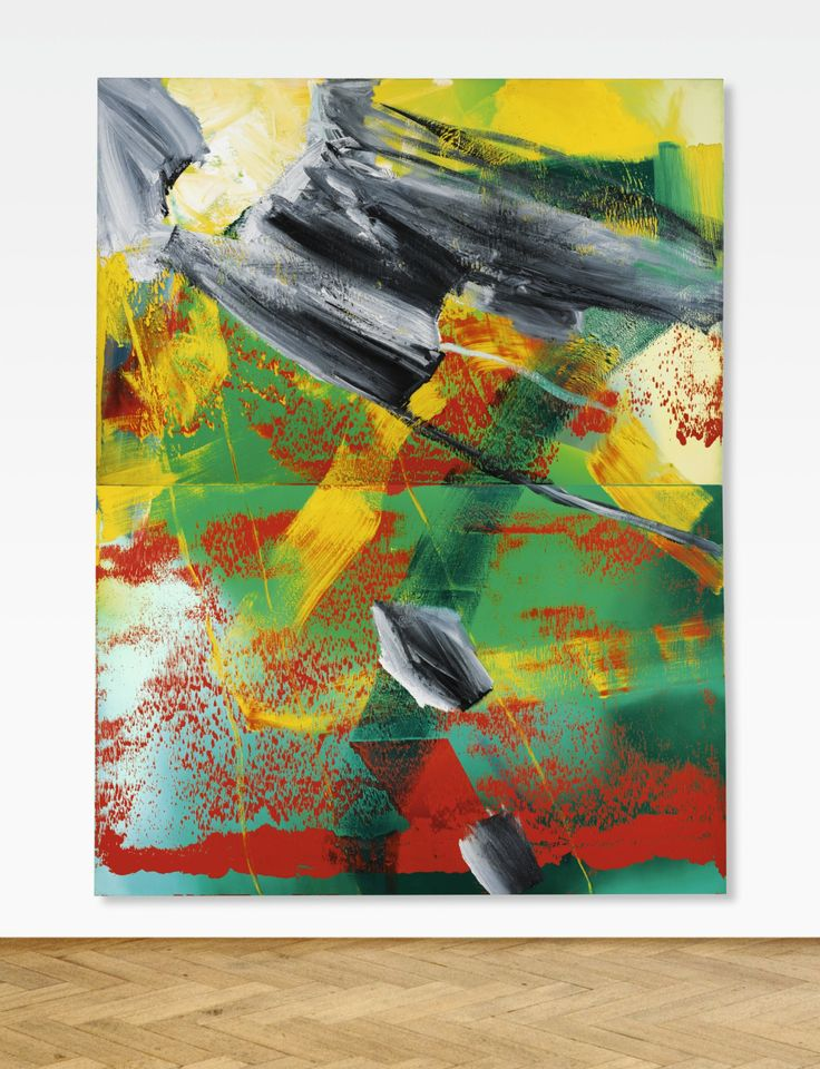 Luxury artsyloch uc Gerhard Richter Garten signed dated and numbered on the