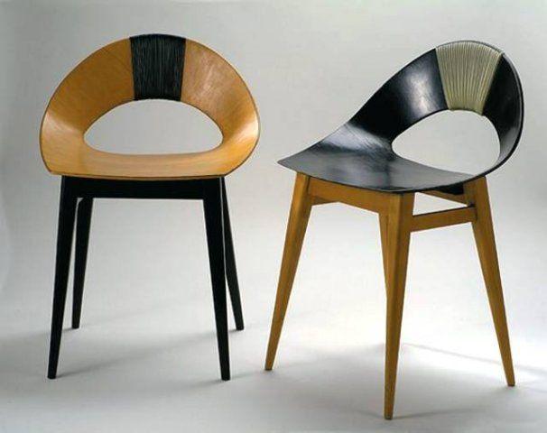 Krzesło Muszelka  Projekt: Teresa Kruszewska