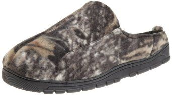 Muk Luks Men's Camouflage Clog Sock, Brown, Large( 11-12) MUK LUKS. $28.45
