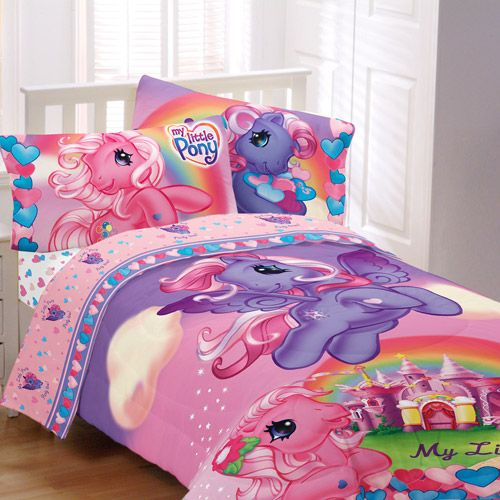 My Little Pony Pony Party Sheet Set  19 50  I want this SO bad  But. 9 best my little pony bed room ideas images on Pinterest   A